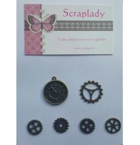 Craft Embellishment Kit (81pcs) - Santoro
