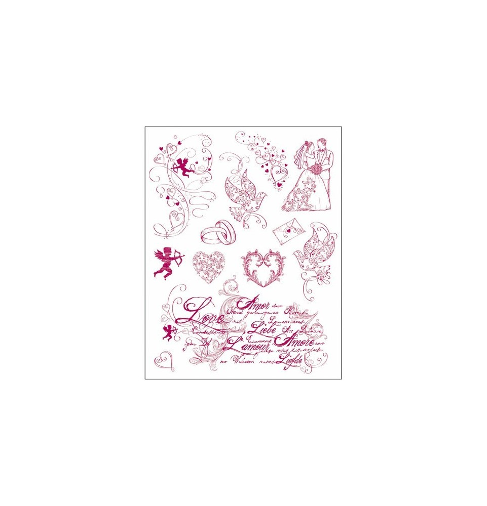 Sticker Sheet (16pcs) - Santoro