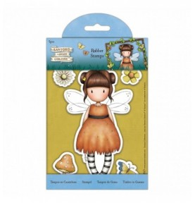 Gorjuss Rubber Stamps - Santoro - Loveheart