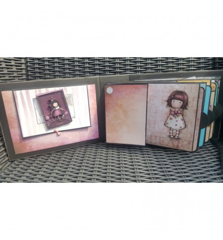 Decorer Vintage Letter 6x6 Inch Paper Pack