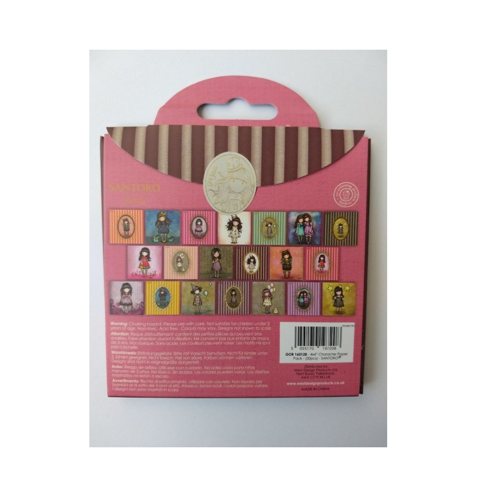 Collectable Rubber Stamp - Santoro - No.75 The Frock