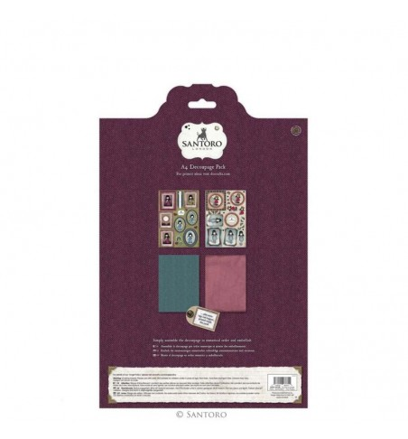 Collectable Rubber Stamp - Santoro - No.78 Winter Friend