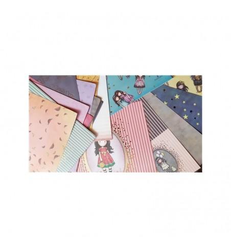 Gorjuss Rubber Stamps - Santoro Tweed - Nightlight