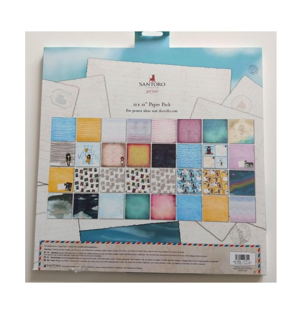 Gorjuss Rubber Stamps - Santoro - Pom-Pom
