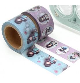 Gorjuss Rubber Stamps - Santoro - Oops A Daisy